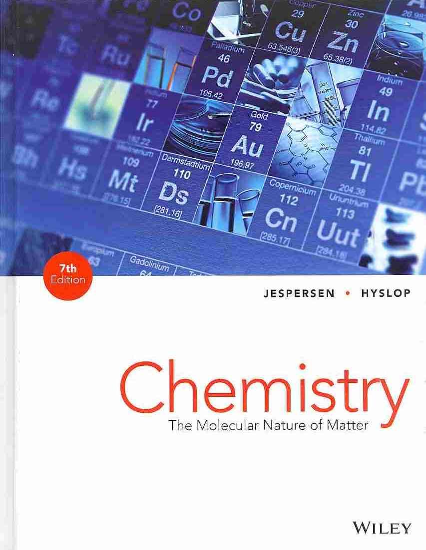 Chemistry By Jespersen, Neil D./ Hyslop, Alison/ Brady, James E.